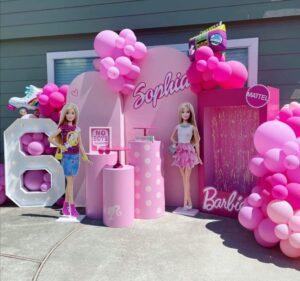 decoracion de fiestas tematicas barbie en toluca metepec