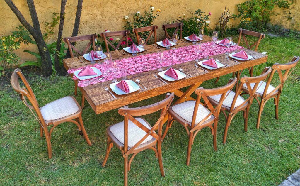 renta de mesas vintage en toluca y metepec
